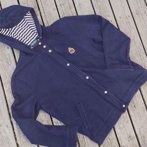 Ralph Lauren vintage zipper front hoody